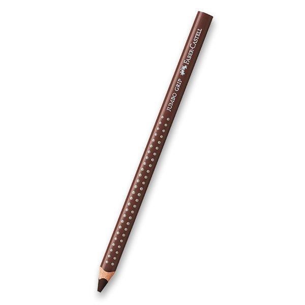 Psací potřeby - Pastelka Faber-Castell Jumbo Grip - hnědé odstíny 76