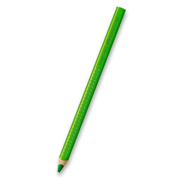 Psací potřeby - Pastelka Faber-Castell Jumbo Grip - zelené odstíny 66