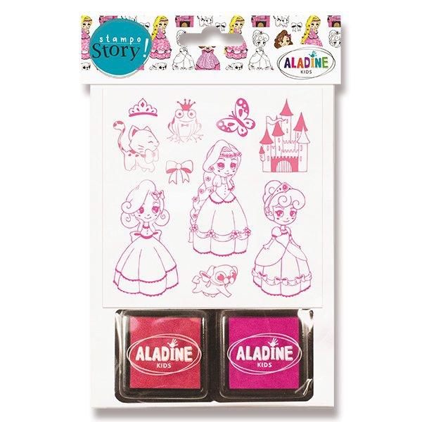 Školní a výtvarné potřeby - Razítka ALADINE Stampo Story Princezny