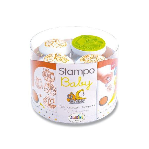 Školní a výtvarné potřeby - Razítka Aladine Stampo Baby - Stroje