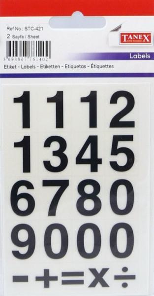 Papír tiskopisy - Etikety čísla STC-421 13x20 32ks