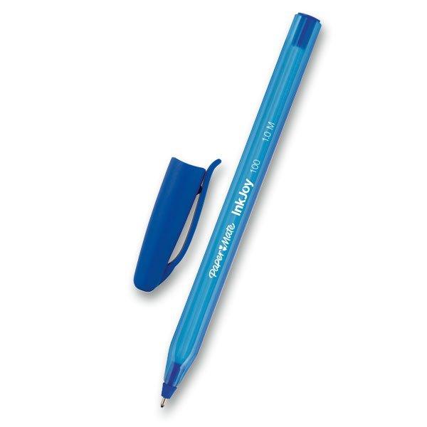 Psací potřeby - Kuličková tužka PaperMate InkJoy 100 modrá