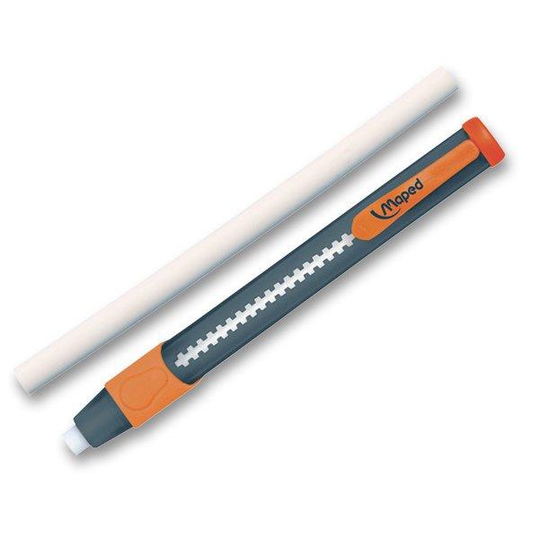 Psací potřeby - Gumovací tužka Maped Circular Gom-Pen - s náhradní pryží mix barev