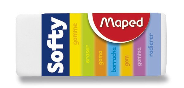 Psací potřeby - Pryž Maped Softy
