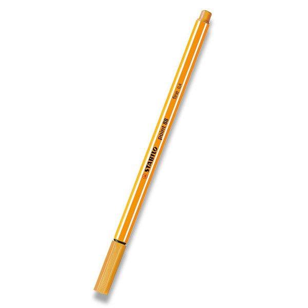 Psací potřeby - Liner Stabilo Point 88 oranžový