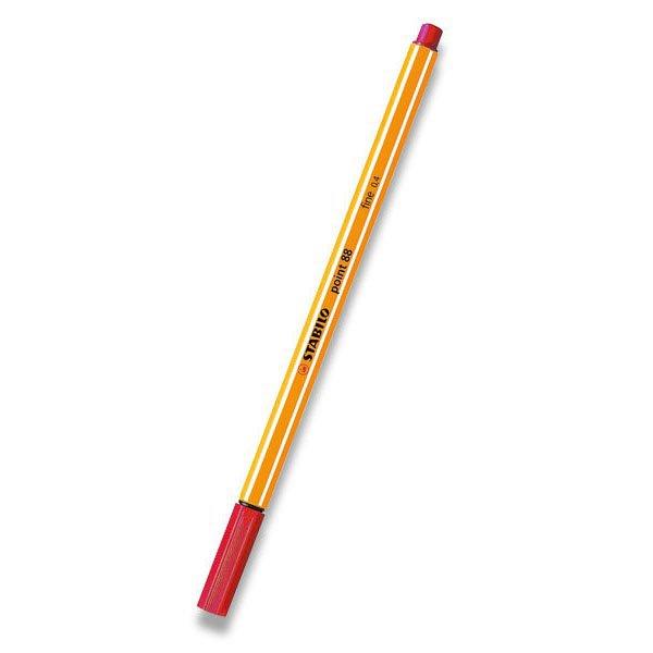 Psací potřeby - Liner Stabilo Point 88 červený