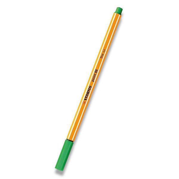 Psací potřeby - Liner Stabilo Point 88 světle zelený