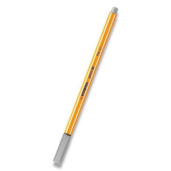 Psací potřeby - Liner Stabilo Point 88 světle šedý