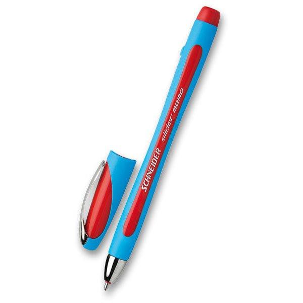 Psací potřeby - Roller Schneider 1502 Slider Memo XB červený