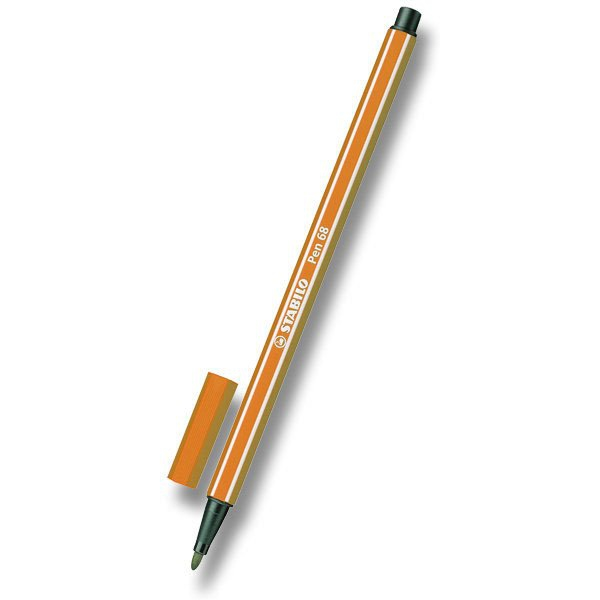 Psací potřeby - Fix Stabilo Pen 68 oranžový