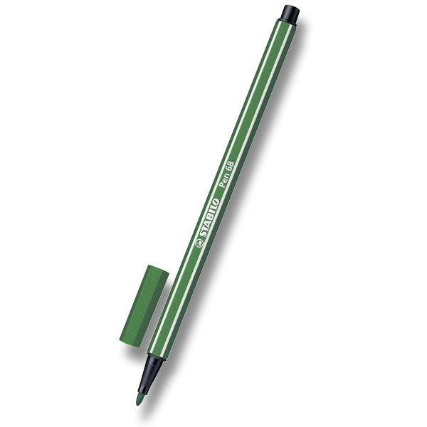 Psací potřeby - Fix Stabilo Pen 68 olivově zelený