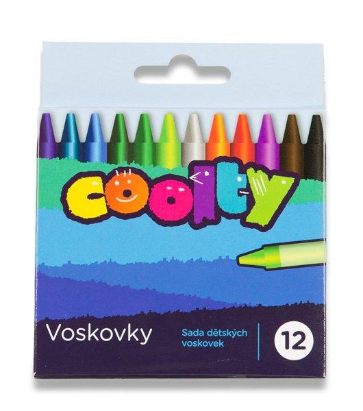 Psací potřeby - Voskovky Coolty 12 barev