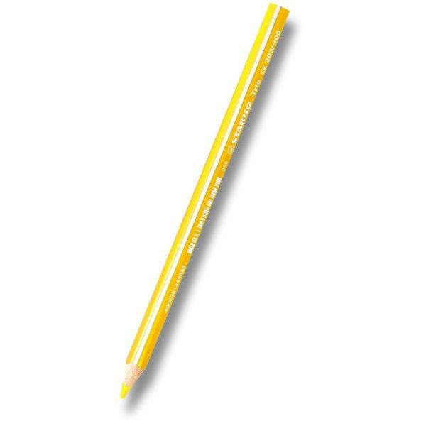 Psací potřeby - Pastelka Stabilo Trio žlutooranžová
