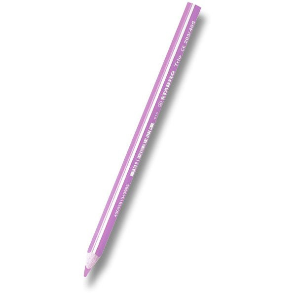 Psací potřeby - Pastelka Stabilo Trio světle růžová