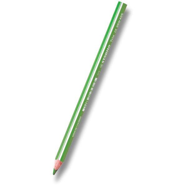 Psací potřeby - Pastelka Stabilo Trio světle zelená