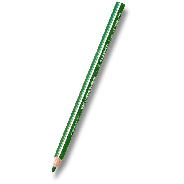 Psací potřeby - Pastelka Stabilo Trio tmavě zelená
