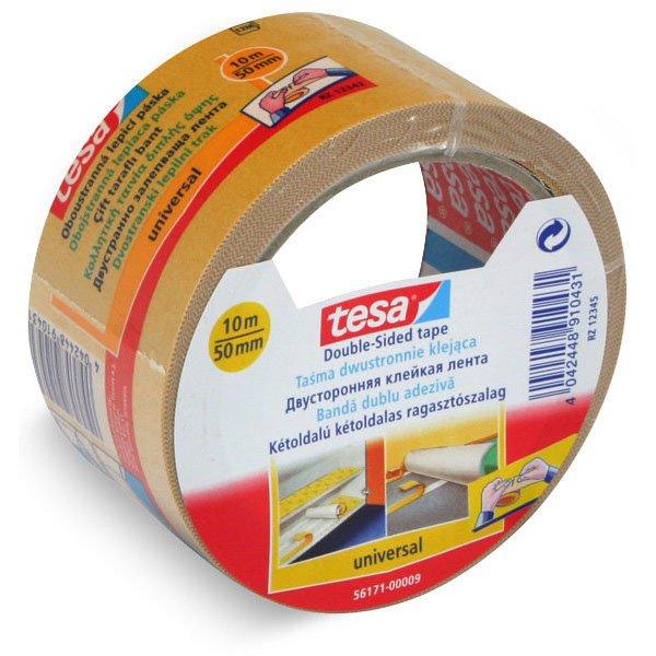 Obalový materiál drogerie - Lepicí páska Tesa Double Face, oboustranná 50 mm x 10 m