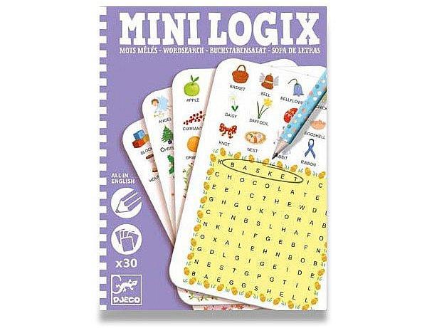 Školní a výtvarné potřeby - Mini hra Djeco Mini Logix - Učíme se anglicky