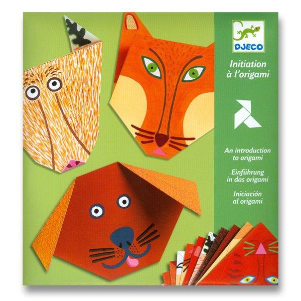 Školní a výtvarné potřeby - Origami skládačka Djeco - Zvířátka
