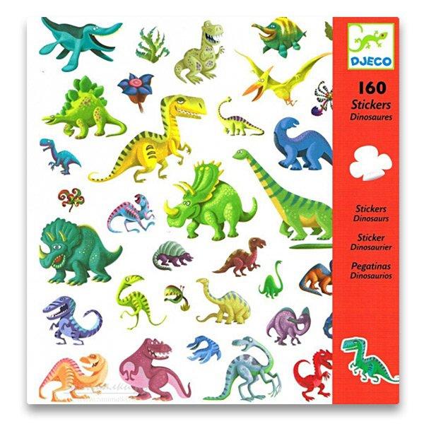 Školní a výtvarné potřeby - Samolepky Djeco Dinosauři