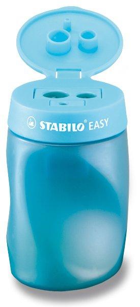 Kancelářské potřeby - Ořezávátko Stabilo EASYsharpener - pro praváky, modré 3 otvory