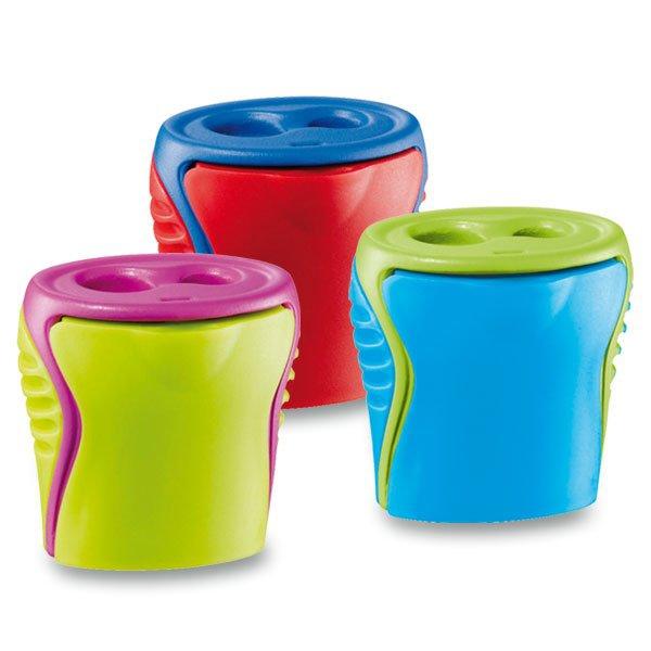 Kancelářské potřeby - Ořezávátko Maped Boogy - s odpadní nádobkou 2 otvory, mix barev