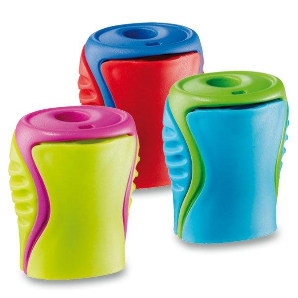 Kancelářské potřeby - Ořezávátko Maped Boogy - s odpadní nádobkou 1 otvor, mix barev