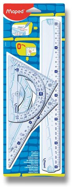 Školní a výtvarné potřeby - Sada Maped Geometric Maxi 4dílná sada