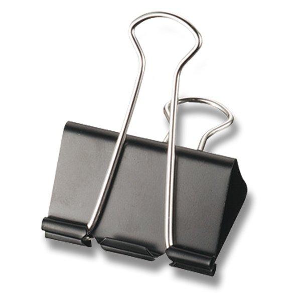 Kancelářské potřeby - Vázací klipy Maped - černé 19 mm