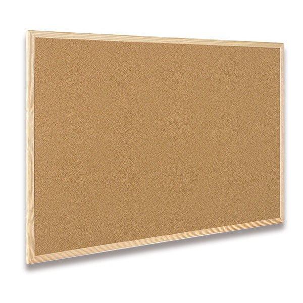 Kancelářské potřeby - Korková tabule Bi-Office 80 x 60 cm