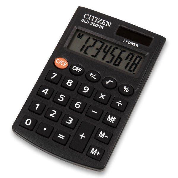 Kancelářské potřeby - Kapesní kalkulátor Citizen SLD-200NR