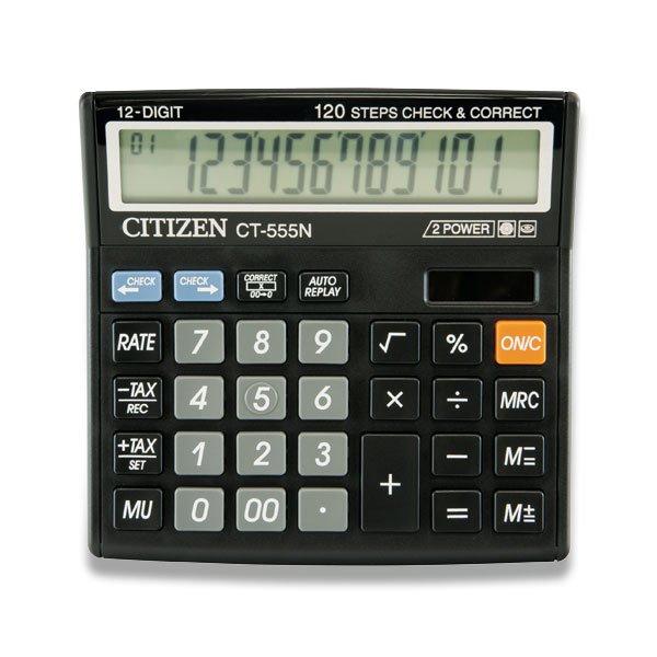 Kancelářské potřeby - Stolní kalkulátor Citizen CT-555N