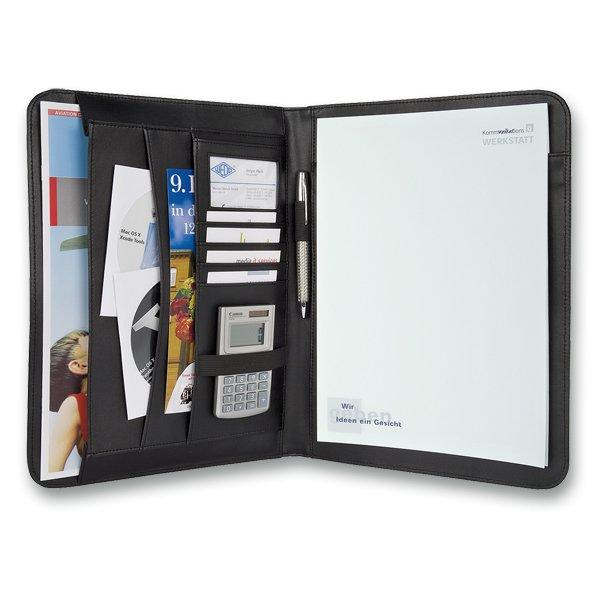 Třídění a archivace - Portfolio Elegance rozměr 330 x 250 x 30 mm
