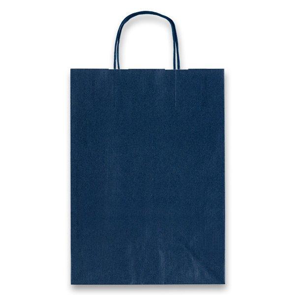 Obalový materiál drogerie - Dárková taška Allegra modrá, M