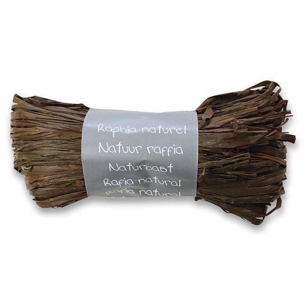 Obalový materiál drogerie - Dárkový provázek Clairefontaine čokoládový