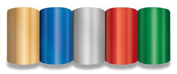 Obalový materiál drogerie - Dárkový balicí papír Metal 2 x 0,7 m, mix barev