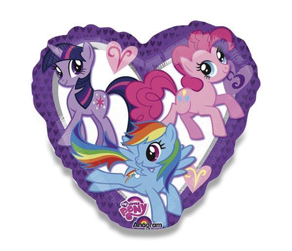 Školní a výtvarné potřeby - Fóliový balónek - My Little Pony
