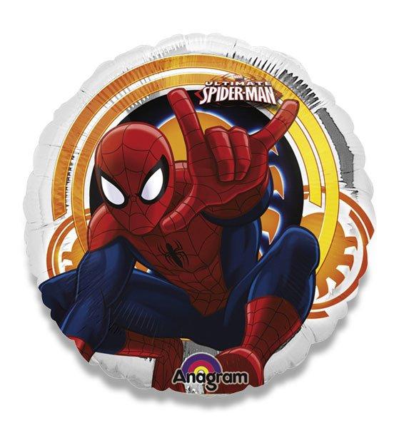 Školní a výtvarné potřeby - Fóliový party balónek kulatý - Spiderman