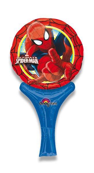 Školní a výtvarné potřeby - Nafukovací balónek s rukojetí - Spider-Man