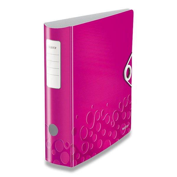 Třídění a archivace - Pákový pořadač Leitz Wow růžový