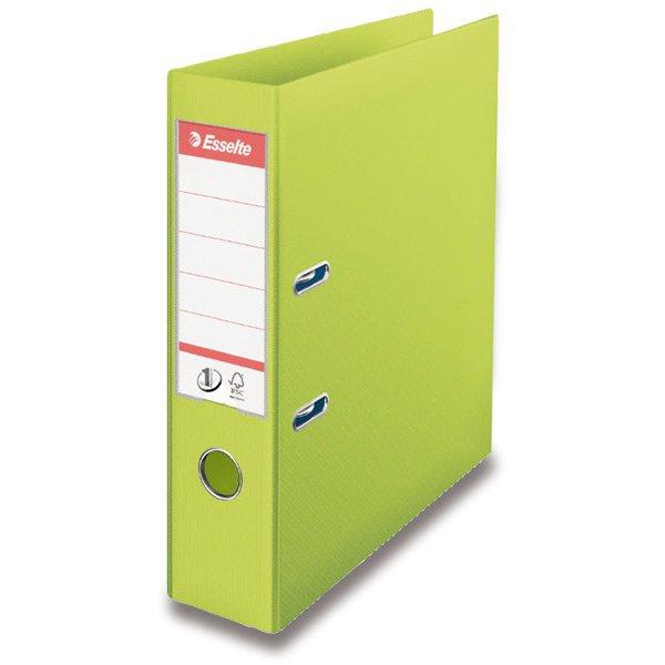 Třídění a archivace - Pákový pořadač Vivida zelený