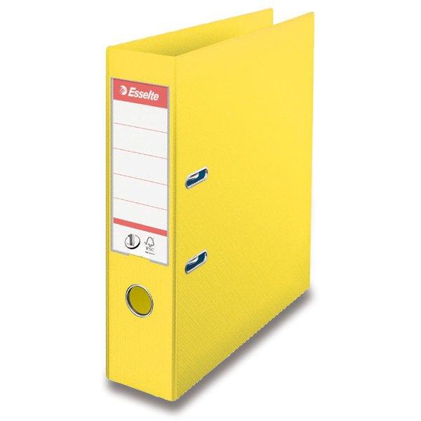 Třídění a archivace - Pákový pořadač Vivida žlutý
