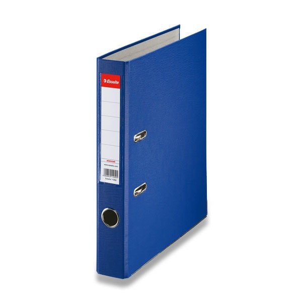 Třídění a archivace - Pákový pořadač Esselte Economy modrý