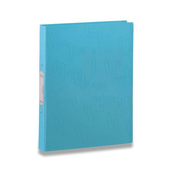 Třídění a archivace - 2kroužkový pořadač I Clip modrý