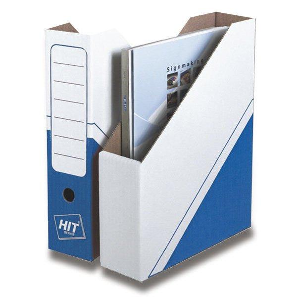 Třídění a archivace - Magazin box Hit Office - archivační box modrý