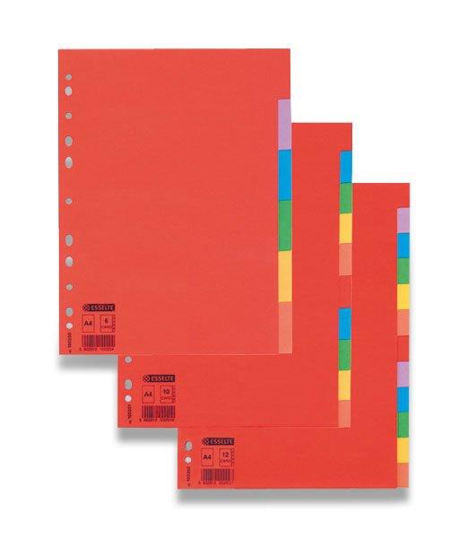 Třídění a archivace - Papírový rozlišovač Esselte Economy 6 listů