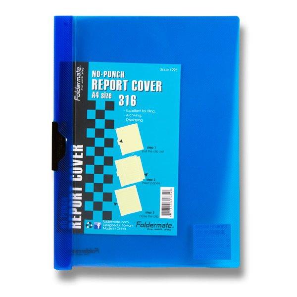 Třídění a archivace - Rychlovazač FolderMate PopGear A4 modrý