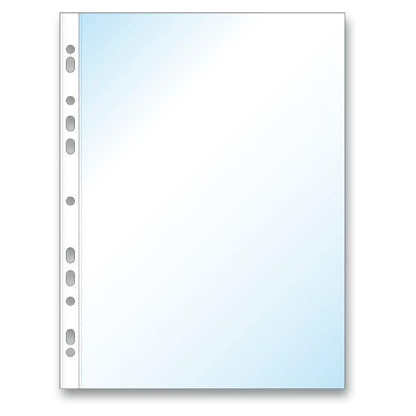 Třídění a archivace - Zakládací obal Economy U A4, 100 ks transparentní, matný