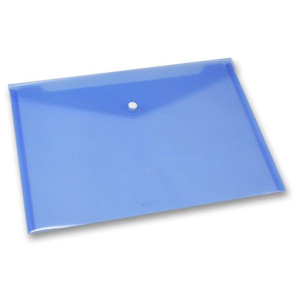 Třídění a archivace - Spisovka s drukem FolderMate Clear modrá, A4