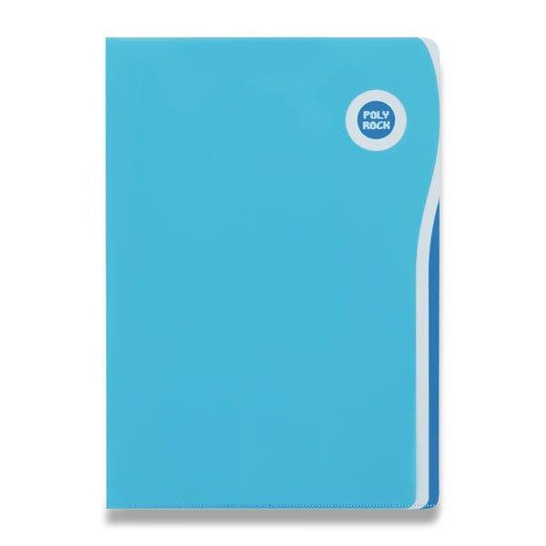 Třídění a archivace - Zakládací desky Poly Rock A6 modré, A6